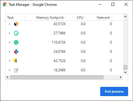 til administrador de tareas Chrome 1