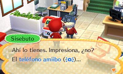 Teléfono Amiibo ACHHD