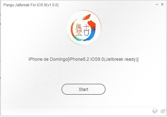 Pangu iOS 9 paso 1