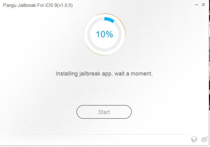 Pangu iOS 9 paso 4