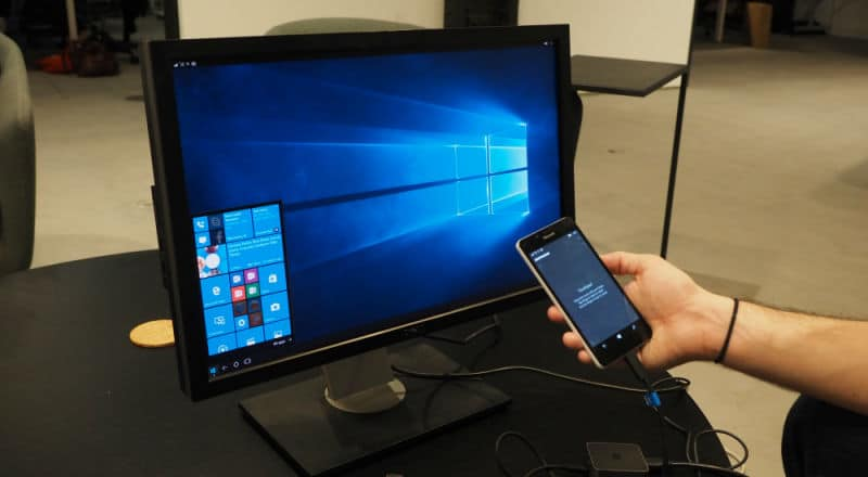 Lumia 950 dock PC
