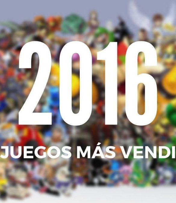 Juegos más vendidos 2016