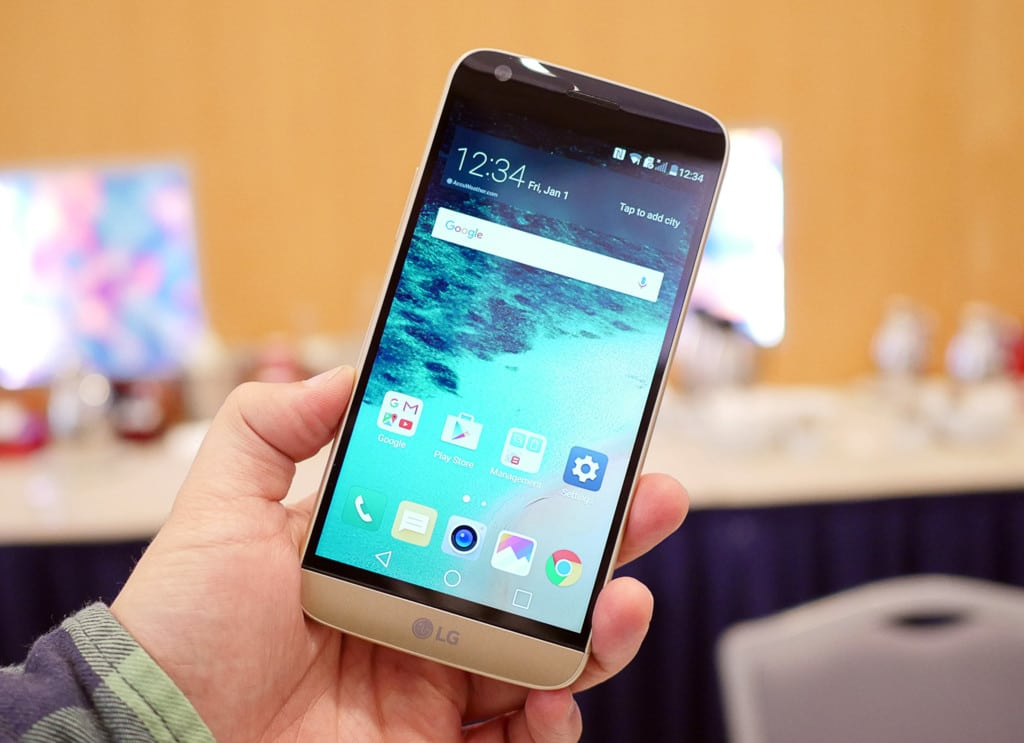 LG G5 Always-on Display