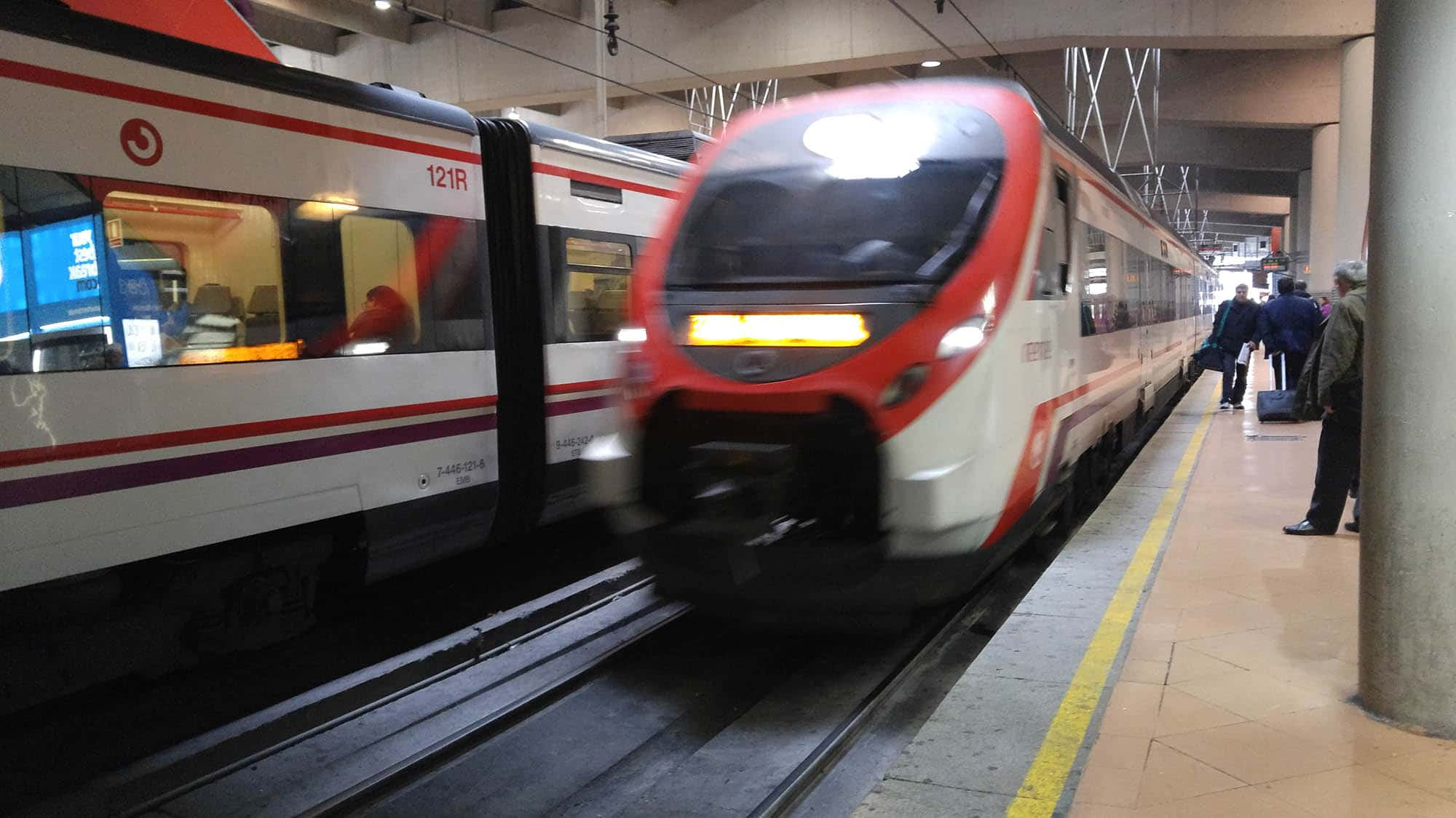 Madrid Metro andando