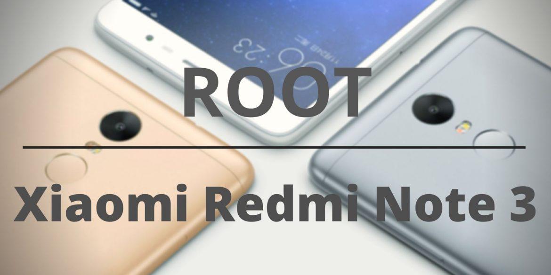 Xiaomi Redmi Note 3 ROOT