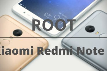 Xiaomi Redmi Note 3 ROOT