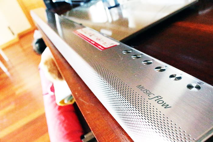 Barra de sonido LG HS7 completa