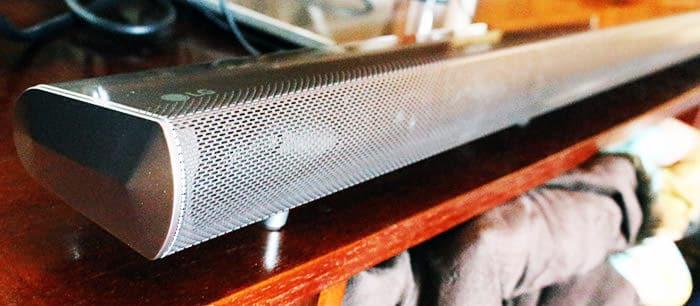Barra de sonido LG HS7 lateral