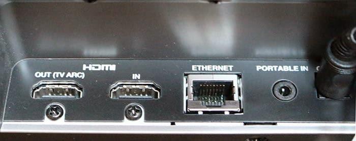 Conexiones LG HS7