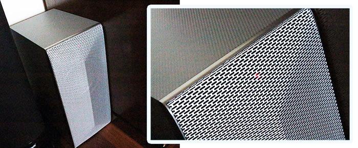 subwoofer barra de sonido LG HS7