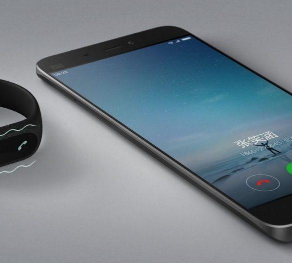 Xiaomi Mi Band 2 chamada