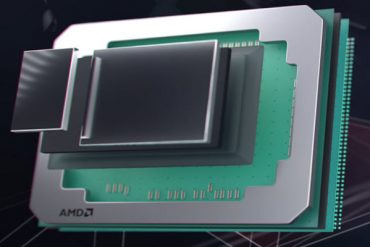 AMD Radeon Pro Vega mostrando sus componentes