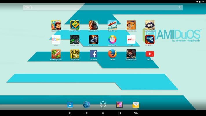 Emulador Android AMIDuOS