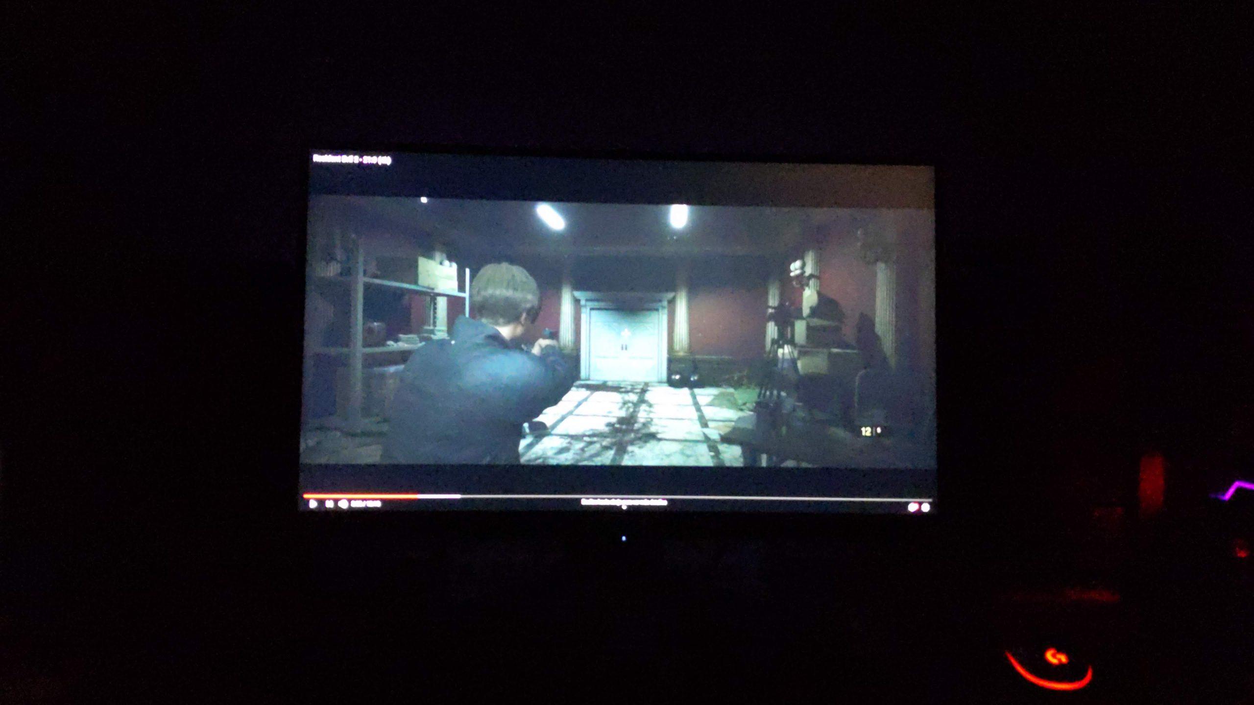 AORUS FI27Q P Resident Evil