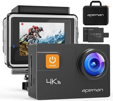 APEMAN A80 cámara de acción barata