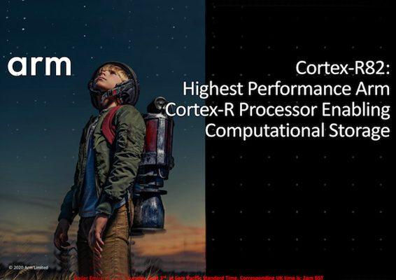 ARM anuncia Cortex R82 1er procesador 64 bits tiempo real 1