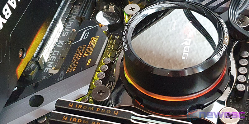 ASUS RYUO 120 CPU MONTADA