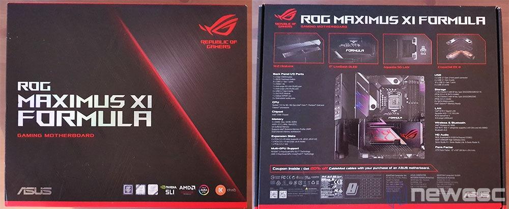 ASUS Z390 Formula caja