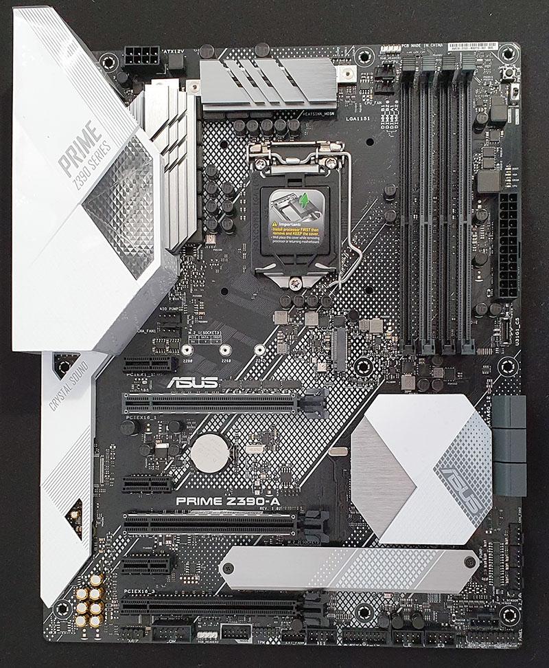 ASUS Z390 Prime A Diseño completo
