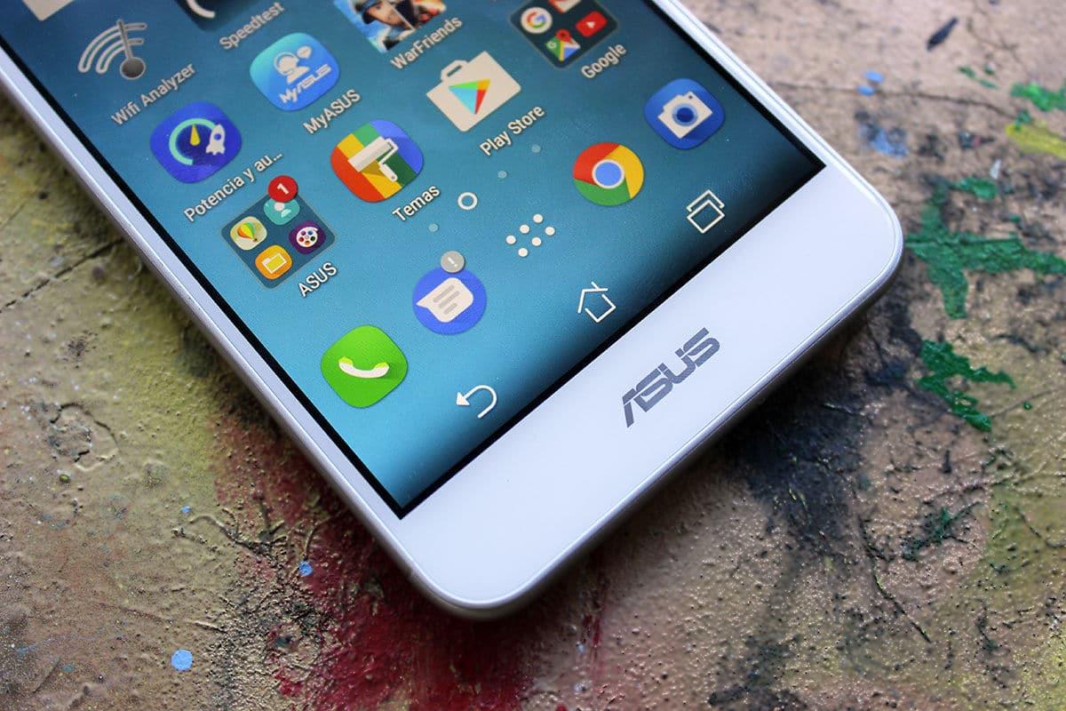ASUS Zenfone 3 Max Botones táctiles logo