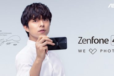 ASUS Zenfone 4 publicidad