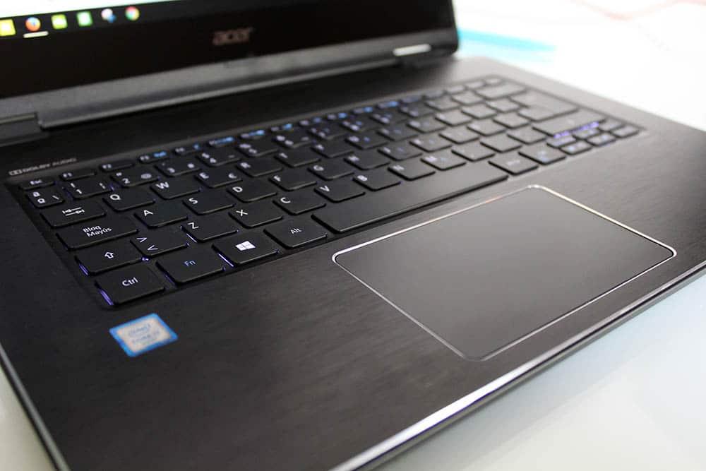 Acer Aspire R 14 teclado