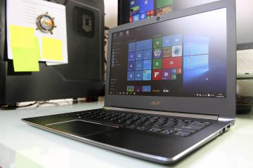Acer Aspire S 13 Pantalla y teclado