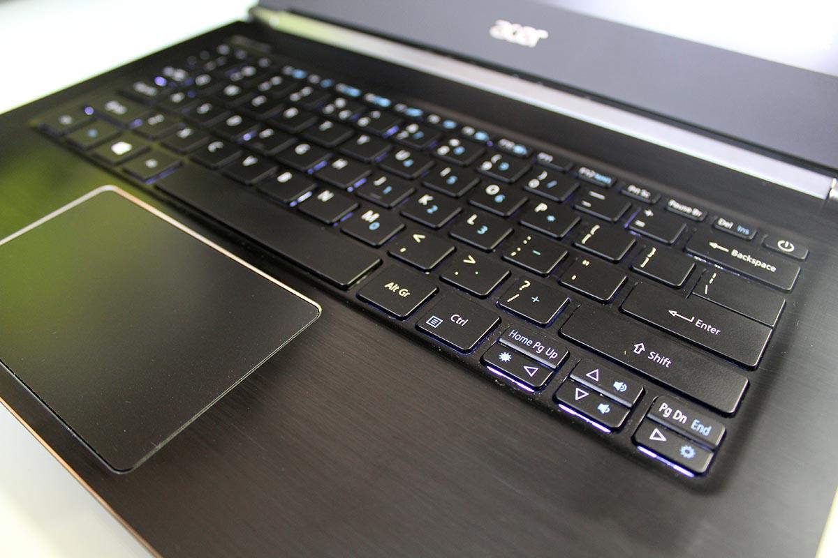 Acer Aspire S 13 Teclado