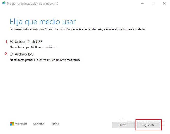 Activar windows 10 asistente de instalacion usb o iso