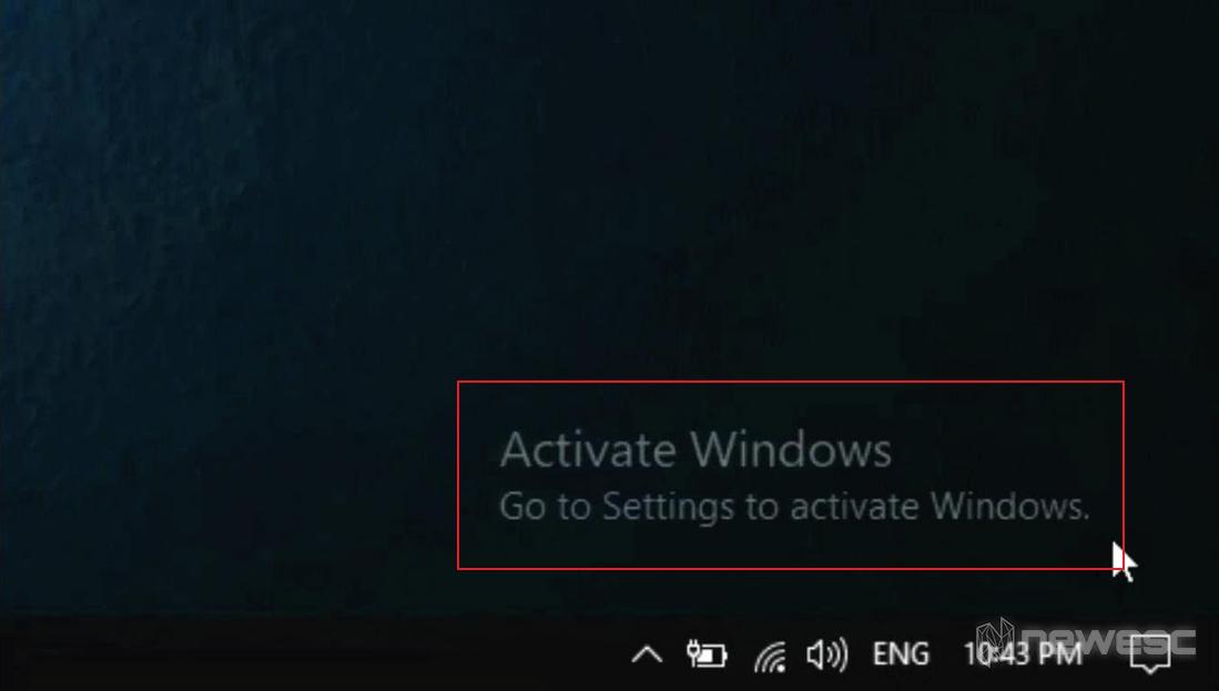 Activar windows 10 marca de agua