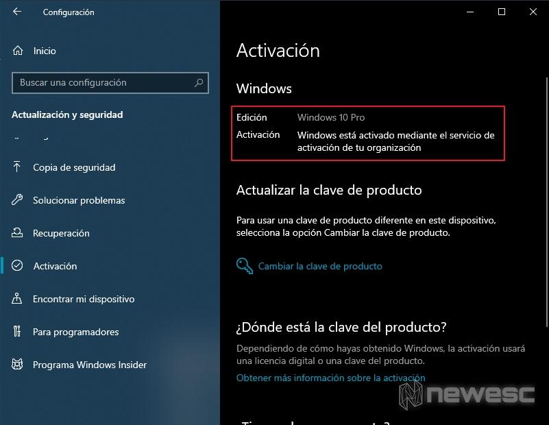 Activar windows 10 verificar activacion configuracion