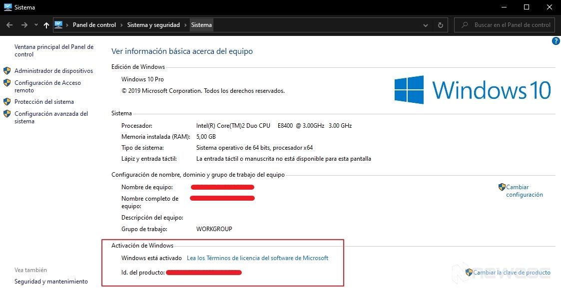 Activar windows 10 verificar activacion equipo 1