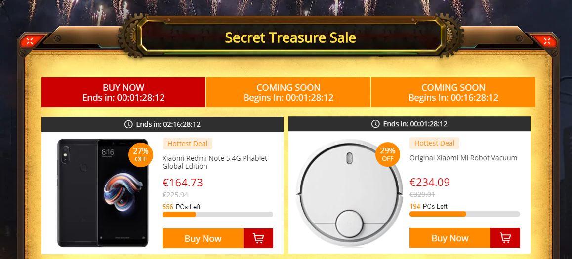 Actividades del Epic Treasure Hunt