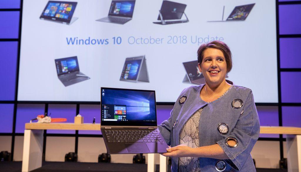 Actualización Windows 10 Octubre 2018
