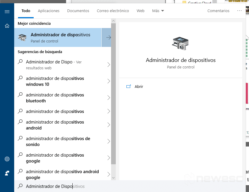 Actualizar drivers en Windows 10 con el Administrador de dispositivos 1
