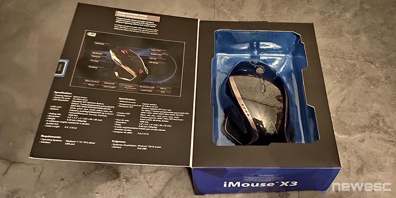 Adesso Imouse X3 caja