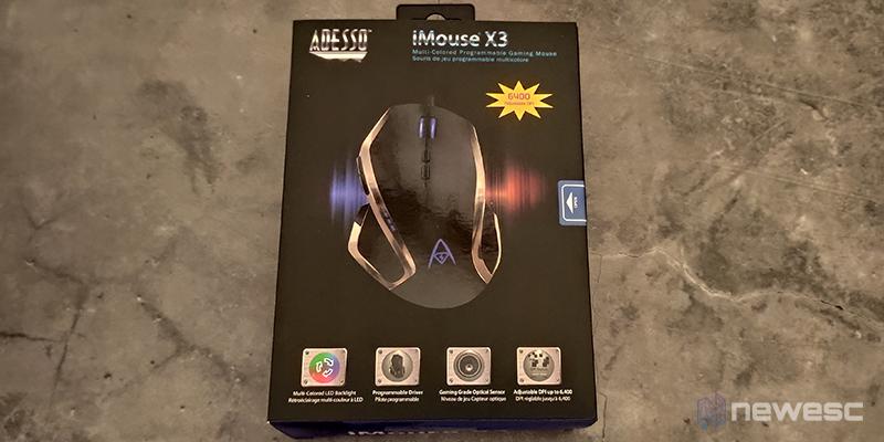 Adesso Imouse X3 caja2