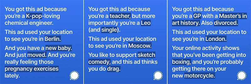 Ads de Signal en Facebook