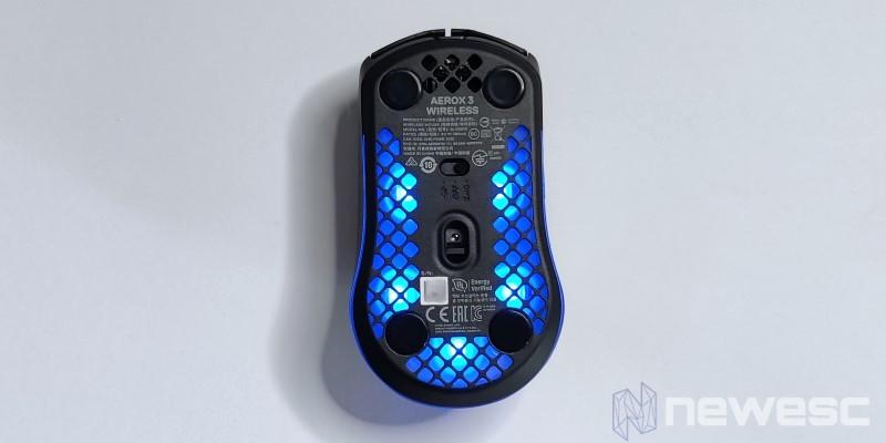 Aerox3 Wireless Baixo