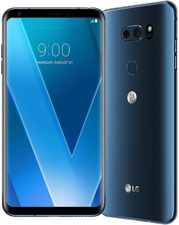 Análisis LG V30 Diseño