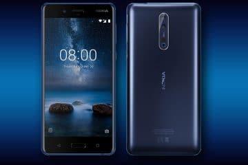 Análisis Nokia 8 Wallpaper