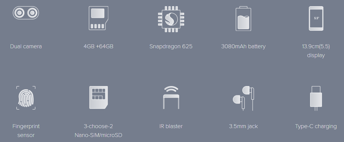 Análisis Xiaomi Mi A1 Especificaciones