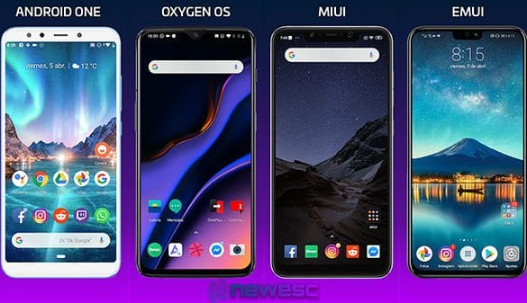 Android Stock vs OxygenOS vs MIUI vs EMUI