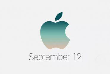 Apple 12 de septiembre