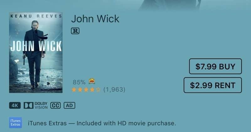Apple TV Contenido 4K