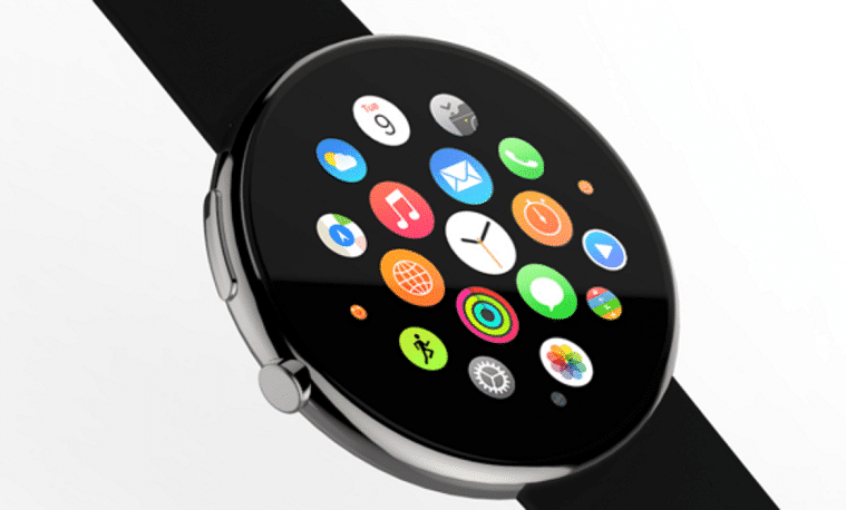 Apple Watch con diseño redondo