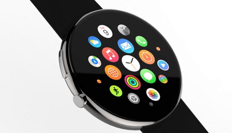 Apple Watch con diseño redondo