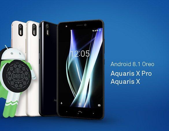Aquaris X recibe Android Oreo 8.1