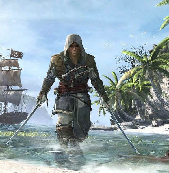 Assasins Creed IV Portada