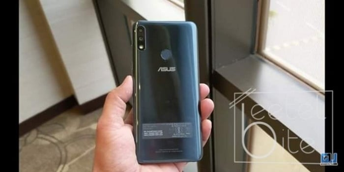 Asus Zenfone Max Pro (M2) posterior filtrado